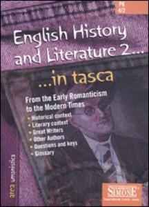 Libro English history and literature. Vol. 2