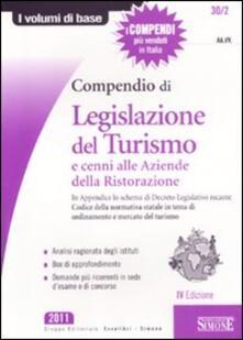 Lpgcsostenible.es Compendio di legislazione del turismo e cenni alle aziende della ristorazione Image
