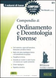 Nicocaradonna.it Compendio di ordinamento e deontologia forense Image