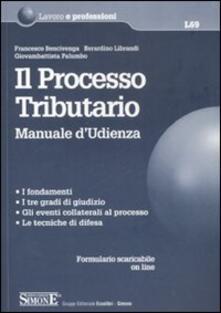 Il processo tributario. Manuale dudienza.pdf