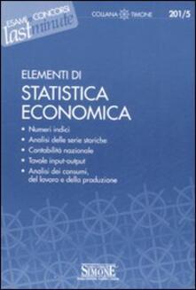 Ristorantezintonio.it Elementi di statistica economica Image