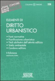 Camfeed.it Elementi di diritto urbanistico Image