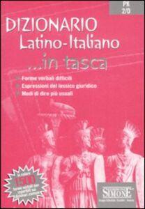 Foto Cover di Dizionario. Latino-italiano, Libro di  edito da Edizioni Giuridiche Simone