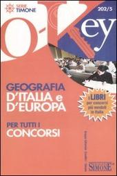 Geografia d'Italia e d'Europa per tutti i concorsi