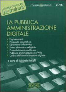Libro La pubblica amministrazione digitale