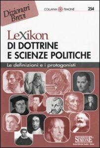 Foto Cover di Lexikon di dottrine e scienze politiche, Libro di  edito da Edizioni Giuridiche Simone