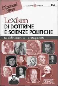 Libro Lexikon di dottrine e scienze politiche