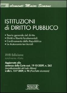 Premioquesti.it Istituzioni di diritto pubblico Image