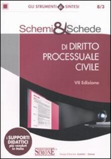 Fondazionesergioperlamusica.it Schemi & schede di diritto processuale civile Image