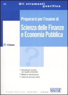 Daddyswing.es Prepararsi per l'esame di scienza delle finanze e economia pubblica Image