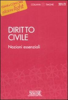 Ilmeglio-delweb.it Diritto civile. Nozioni essenziali Image