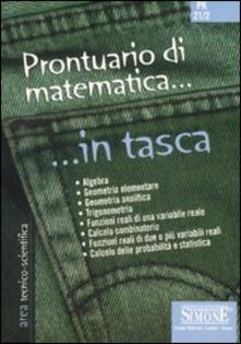 Mercatinidinataletorino.it Prontuario di matematica Image