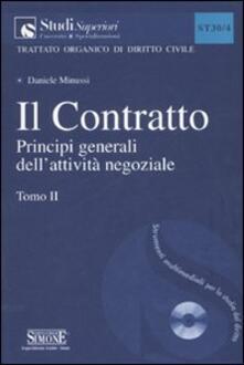 Charun.it Il contratto. Con CD-ROM. Vol. 2: Principi generali dell'attività negoziale. Image