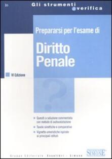 Listadelpopolo.it Prepararsi per l'esame di diritto penale Image