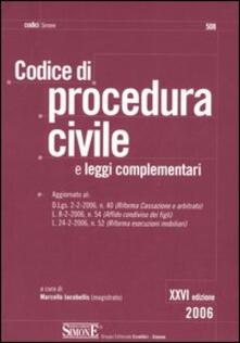 Festivalpatudocanario.es Codice di procedura civile. Leggi complementari Image