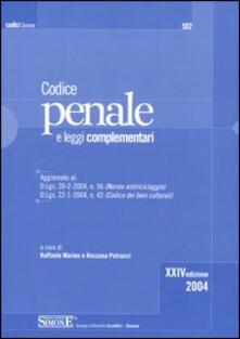 Cocktaillab.it Codice penale. Leggi complementari Image