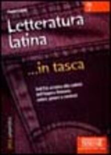 Letteratura latina. DallEtà arcaica alla caduta dellimpero romano: autori, generi e contesti.pdf