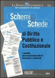 Secchiarapita.it Schemi & schede di diritto pubblico e costituzionale Image