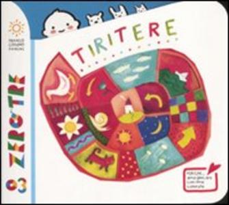 Libro Tiritere Bruno Tognolini , Antonella Abbatiello