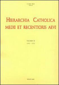 Hierarchia catholica. Vol. 9: 1903-1922.