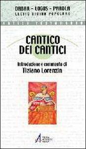 Foto Cover di Cantico dei cantici, Libro di  edito da EMP