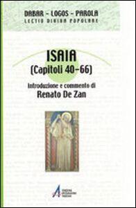 Foto Cover di Isaia (capitoli 40-66), Libro di  edito da EMP