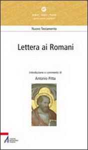 Libro Lettera ai romani Antonio Pitta