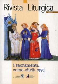 Listadelpopolo.it I sacramenti: come «dirli» oggi Image