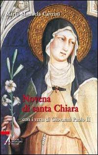 Novena di santa Chiara. Con...