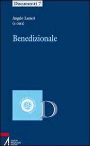 Foto Cover di Benedizionale, Libro di  edito da EMP