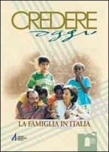 Foto Cover di La famiglia in Italia, Libro di  edito da EMP