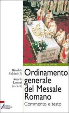 Ordinamento generale del messale romano. Commento e testo.pdf
