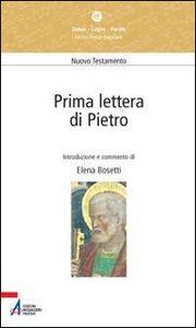 Foto Cover di Prima lettera di Pietro, Libro di Elena Bosetti, edito da EMP