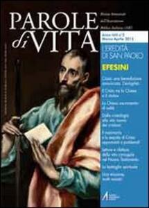 Parole di vita (2012). Vol. 2: L'eredità di san Paolo agli efesini.