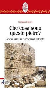 Libro Che cosa sono queste pietre? Ascoltare la presenza silente Cristiana Dobner