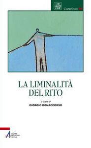 Libro La liminalità del rito