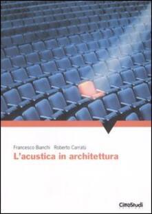 Ipabsantonioabatetrino.it L' acustica in architettura Image