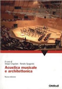 Acustica musicale e architettonica - copertina