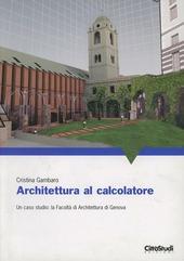 Architettura al calcolatore