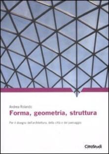 Antondemarirreguera.es Forma, geometria, struttura. Per il disegno dell'architettura, della città e del paesaggio Image