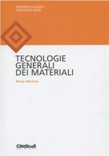 Listadelpopolo.it Tecnologie generali dei materiali Image