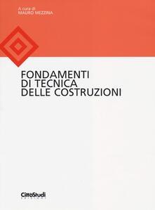 Fondamenti di tecnica delle costruzioni - copertina