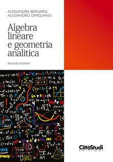 Camfeed.it Algebra lineare e geometria analitica Image