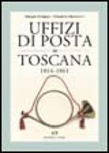 Uffizi di posta in Toscana 1814-1861
