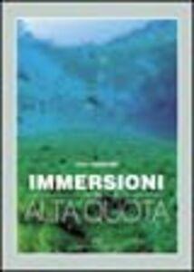 Libro Immersioni in alta quota Elvio Dardanelli