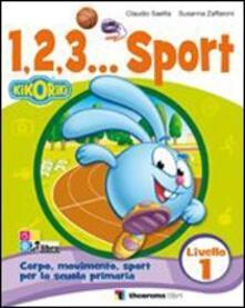 Letterarioprimopiano.it 123... Corso di sport. Per la Scuola elementare. Con CD Audio. Vol. 1 Image