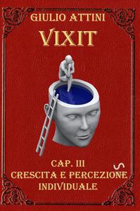 Vixit. Vol. 3: Crescita e percezione individuale.