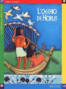 Libro L' occhio di Horus Alain Surget