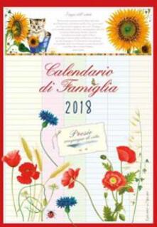 Charun.it Poesie compagne di vita. Calendario di famiglia 2018 Image