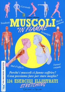 Daddyswing.es Muscoli «in fiamme». 124 esercizi illustrati stretching. Una macchina perfetta. Ediz. a colori Image